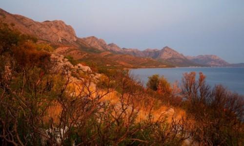 Zdjecie CHORWACJA / Riviera Makarska / u podnóża góry Sutvid / rozgrzane słonecznym żarem...