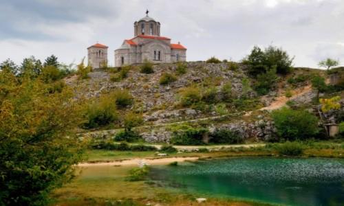 Zdjecie CHORWACJA / Góry Dynarskie / Cetina Vrelo / u źródła...