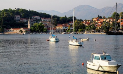 Zdjęcie CHORWACJA / Południowa Dalmacja / Cavtat / w Cavtacie...