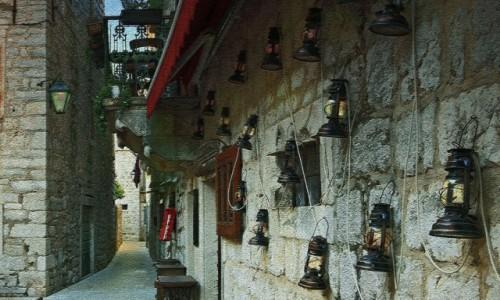 Zdjęcie CHORWACJA / Hvar / Stari Grad / Kamienne uliczki