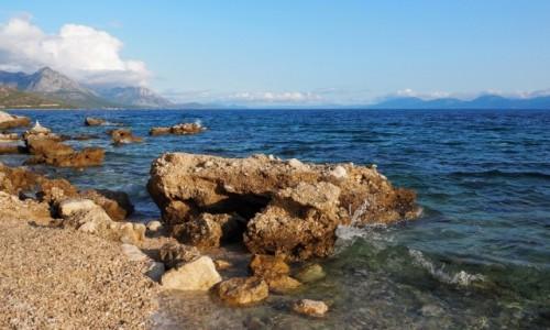 CHORWACJA / Riviera Makarska / Blato / zanurzone w błękicie...