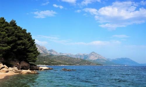 Zdjecie CHORWACJA / Dalmacja / Riviera Makarska / tutaj można poczuć się szczęśliwym...
