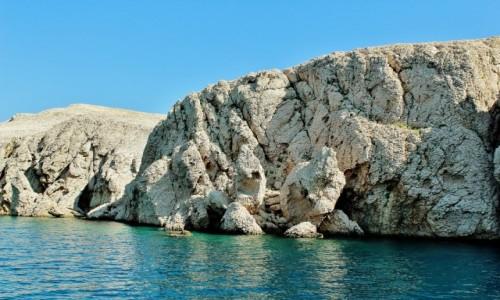 CHORWACJA / Dalmacja / Wyspa Pag / Wyspa Pag