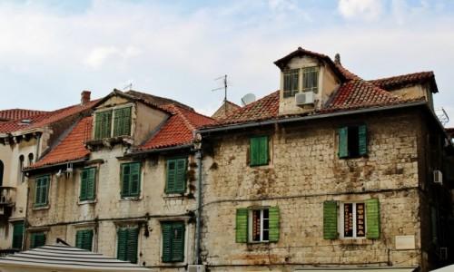 CHORWACJA / Dalmacja / Split / Splitskie okiennice
