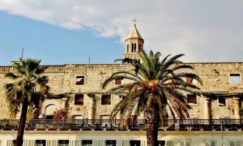 CHORWACJA / Dalmacja / Split / Pałac Dioklecjana
