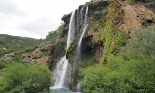 Zdjecie CHORWACJA / środkowa Chorwacja / wodospad Krcic, okolice Knina / a jednak... reinkarnacja:)