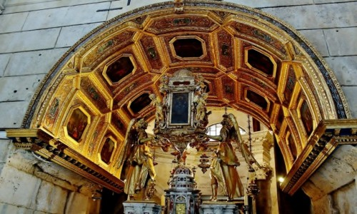 Zdjecie CHORWACJA / Dalmacja / Split / Ołtarz w katedrze św.Domniona