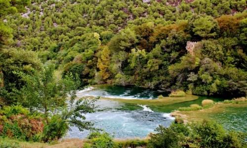 CHORWACJA / Dalmacja / Park Narodowy Krka / Park Narodowy Krka