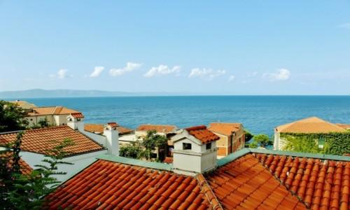 CHORWACJA / Dalmacja / Podgora / Skrzypek na dachu