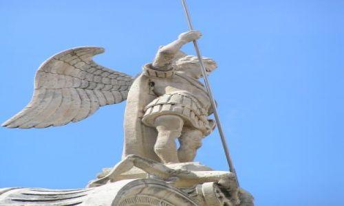 Zdjecie CHORWACJA / dalmacja / Szybenik / Na szczycie katedry