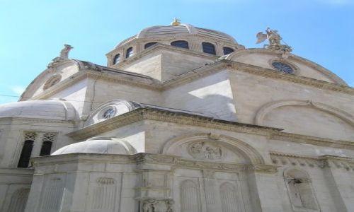 Zdjecie CHORWACJA / dalmacja / Szybenik / katedra