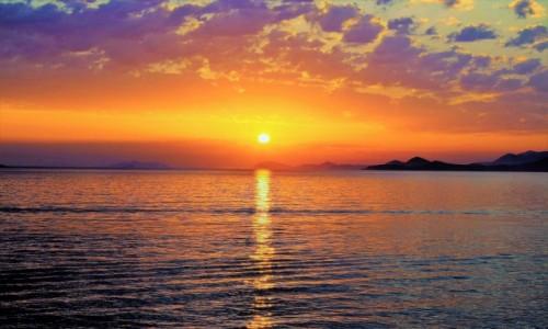 Zdjecie CHORWACJA / Południowa Dalmacja / Cavtat / Zachód słońca