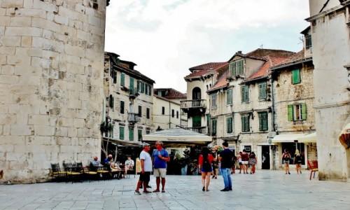 Zdjecie CHORWACJA / Dalmacja / Split / Bycie w Splicie