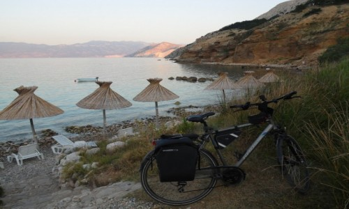 Zdjecie CHORWACJA / - / Wyspa Krk / Z rowerem na Płd. Europę