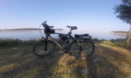 Zdjecie CHORWACJA / - / Funtana / Z rowerem na Płd. Europę