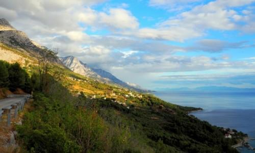 Zdjecie CHORWACJA / Dalmacja / Riviera Makarska / brzegiem Adriatyku...