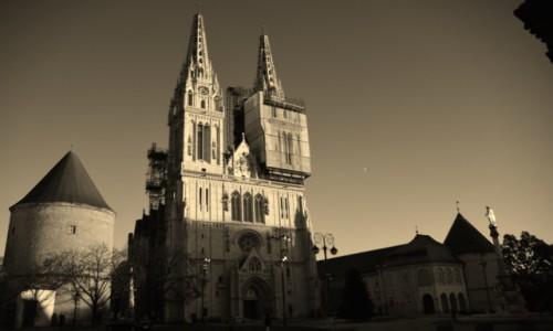Zdjecie CHORWACJA / Stolica / Zagrzeb / Katedra