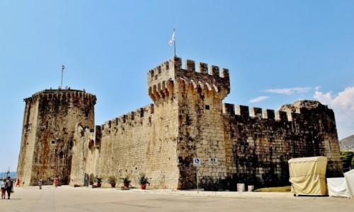 Zdjecie CHORWACJA / Dalmacja / Trogir / Twierdza Kamerlengo z XV wieku