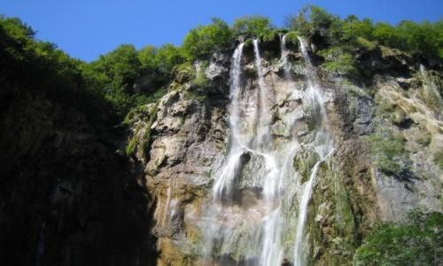 Zdjecie CHORWACJA / Dalmacja Północna / Plitvice / park krajobrazowy Plitvice