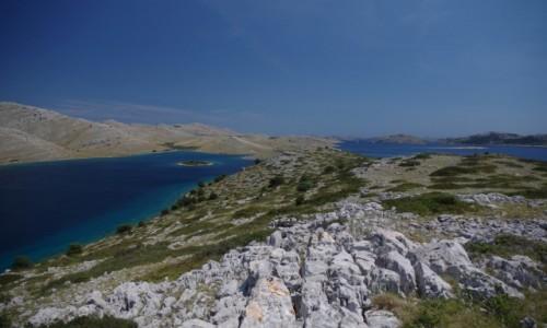 CHORWACJA / Kornati National Park / Kornati / Covidowa bezludna Chorwacja