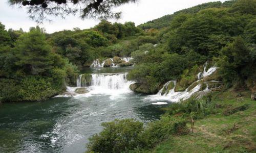 Zdjecie CHORWACJA / Dalmacja / Wodospady / Slapovi rijeke Krke II