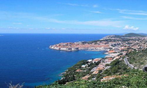 Zdjecie CHORWACJA / Dalmacja / Dubrovnik / Pogled na Dubrovnik