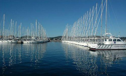 Zdjecie CHORWACJA / p�lnocna Dalmacja / Biograd / marina w Biogra