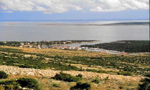 Zdjęcie CHORWACJA / Pag / Pag / Rzut oka na morze