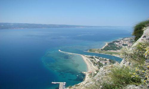 Zdjecie CHORWACJA / Dalmacja / Omisz / Ujście rzeki Ce