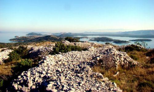 Zdjecie CHORWACJA / Dalmacja / wyspa muter / Szczyt