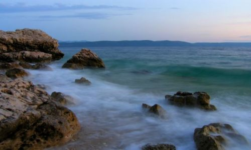 Zdjecie CHORWACJA / Dalmacja / Zivogosce / woda II