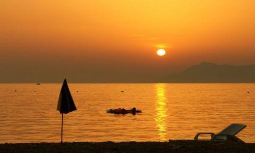 Zdjęcie CHORWACJA / Dalmacja / Makarska / wieczorem II
