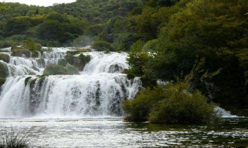 Zdjęcie CHORWACJA / Bałkany / Park Narodowy Krka / Wodospad