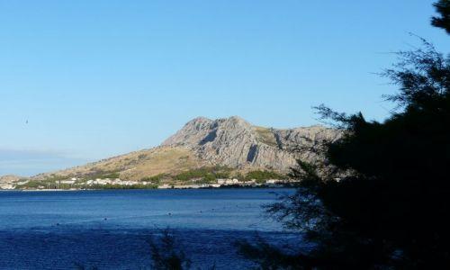 Zdjęcie CHORWACJA / Bałkany / Omisz / Poranek nad Adriatykiem
