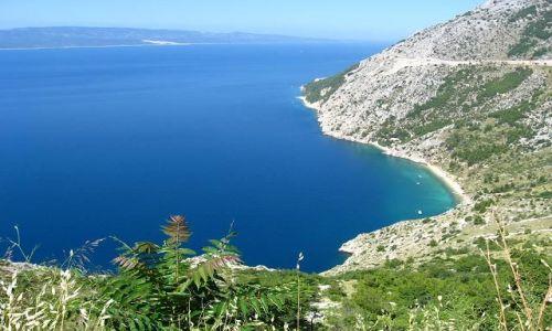 Zdjecie CHORWACJA / Dalmacja / Niedaleko Breli / Adriatyk