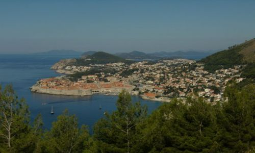 Zdjecie CHORWACJA / Dalmacja / Dubrovnik / Nad Dubrovnikiem :-))