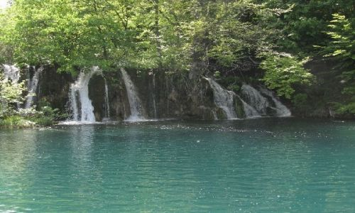 Zdjęcie CHORWACJA / brak / Jeziora Plitwickie / wodospad5