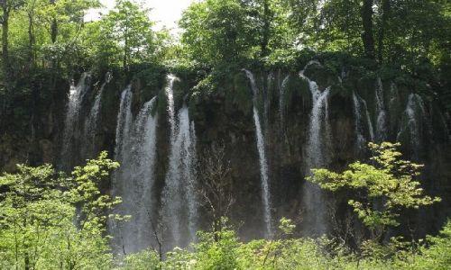 Zdjecie CHORWACJA / brak / Jeziora Plitwickie / wodospad6