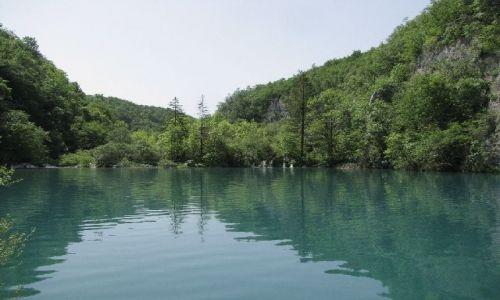 Zdjecie CHORWACJA / brak / Jeziora Plitwickie / jezioro1