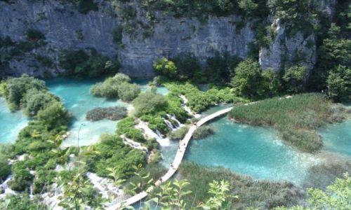 Zdjecie CHORWACJA / Plitwickie Jeziora / Chorwacja / Plitwickie jeziora-Park Narodowy Chorwacji