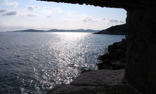 Zdjecie CHORWACJA / Okolice Dubrovnika / Chorwacja / Zatoka w Chorwa