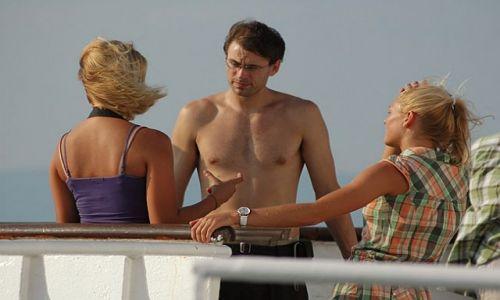Zdjecie CHORWACJA / Adriatyk / prom na Hvar / co powiedziała blondynka nr 2??