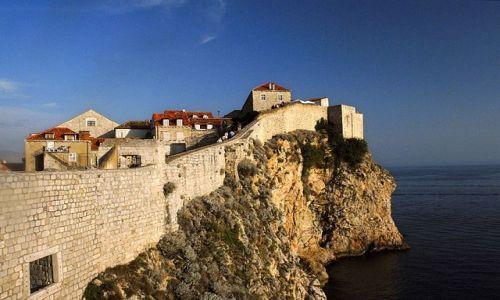 Zdjęcie CHORWACJA / Dubrovnik / Dubrovnik / mury miasta