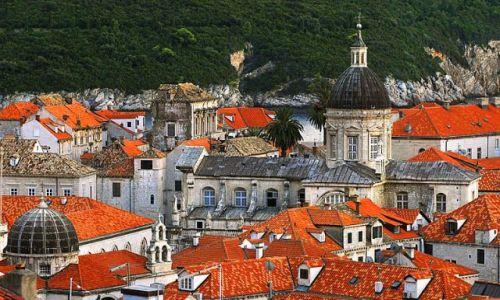 Zdjecie CHORWACJA / Dubrovnik / Dubrovnik / dachy miasta w wersji Barbi