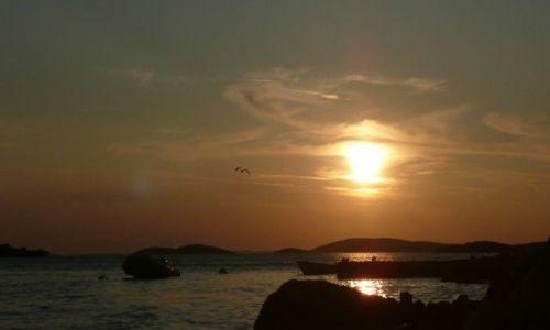 Zdjecie CHORWACJA / Dalmacja / Rovnij / Zachód słońca