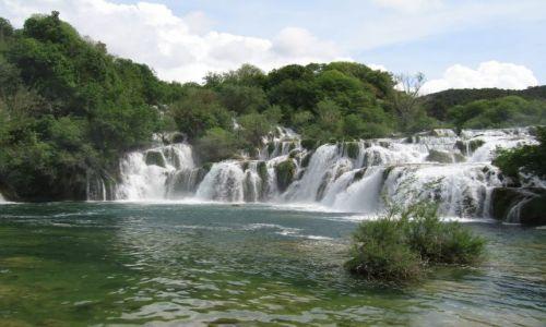 Zdjecie CHORWACJA / Chorwacja / Wodospady krka / Wodospady Krka III