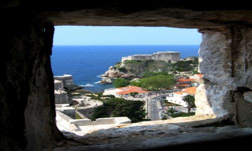 Zdjecie CHORWACJA / Dubrovnik / Widok z wieży / Dubrovnik