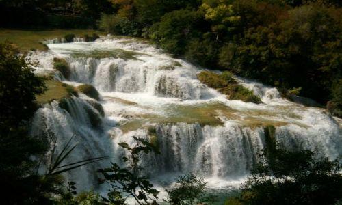 Zdjecie CHORWACJA / park narodowy / wodospad / wspania�a podr�