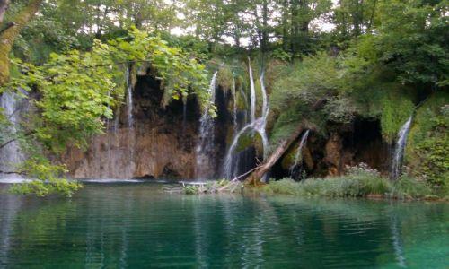 Zdjecie CHORWACJA / park narodowy / JEZIORA PLITWICKIE / :)