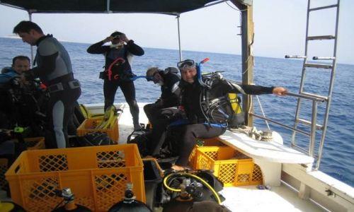 Zdjecie CHORWACJA / Dalzacja / Adriatyk / Chorwacja, Na Lodzi Nurkowej